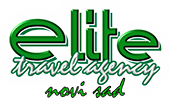 Elite Travel - Logo, footer
